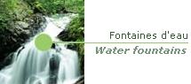 Location de fontaines d'eau pour équiper vos stands d'exposition